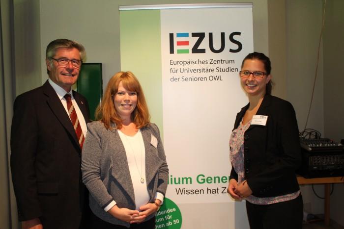 Landrat Heuwinkel besucht EZUS-Sommerakademie