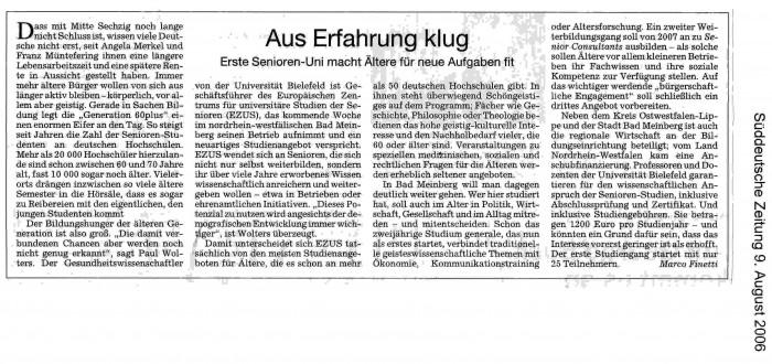 Süddeutsche Zeitung_09.08.2006